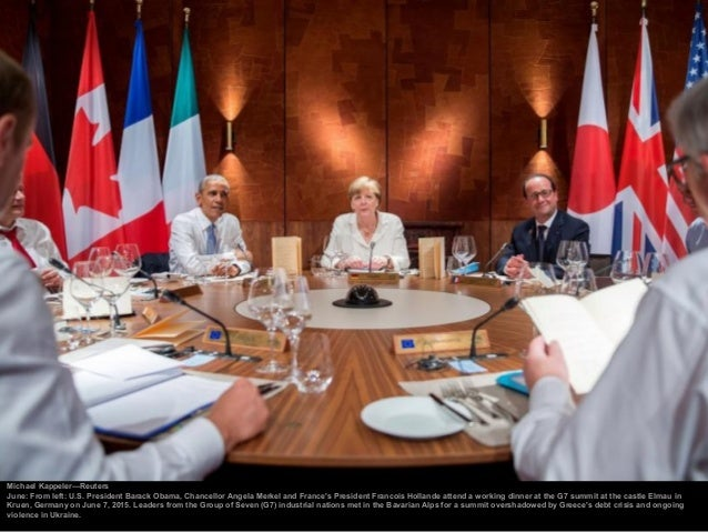 Bundesregierung/laif/Redux October: Chancellor Angela Merkel and British Prime Minister David Cameron talk at the beginnin...