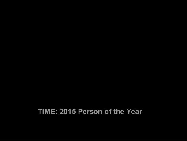 TIME's 2015 Person of the Year Is Angela Merkel