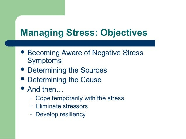 personal stress management plan Setting up a stress management program a checklist for success and individual-based stress management strategies that teach can help employees find professional help with work and/or personal issues eaps can lead to a decrease in worker's compensation.