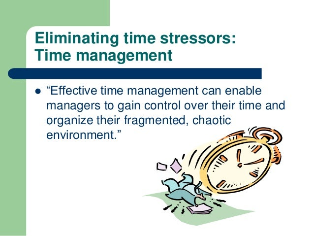 time management can be stressful One study found that one in three office workers suffers from email stress making a decision the first time you open an email is crucial for good time management emma advises practising the four ds: delete: you can probably delete half the emails you get immediately do: if the email is urgent or can be completed quickly.