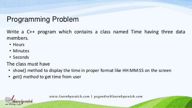C++ Programming: Code patterns design