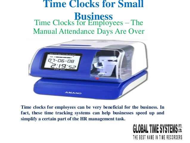 Time clocks for employees the manual attendance days are over time clocks for small business time clocks for employees the manual attendance days are over colourmoves