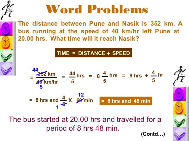 Time distance