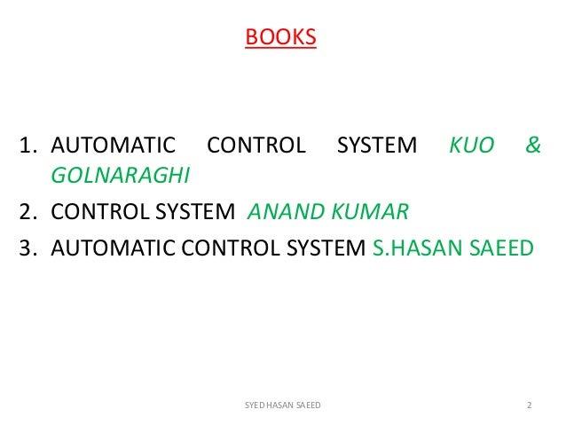 Pdf control book hasan system saeed