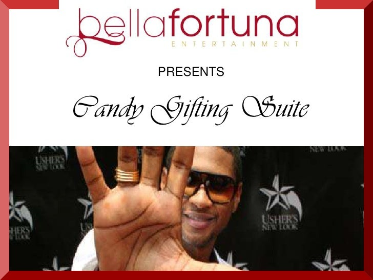 PRESENTS<br />Candy Gifting Suite<br />