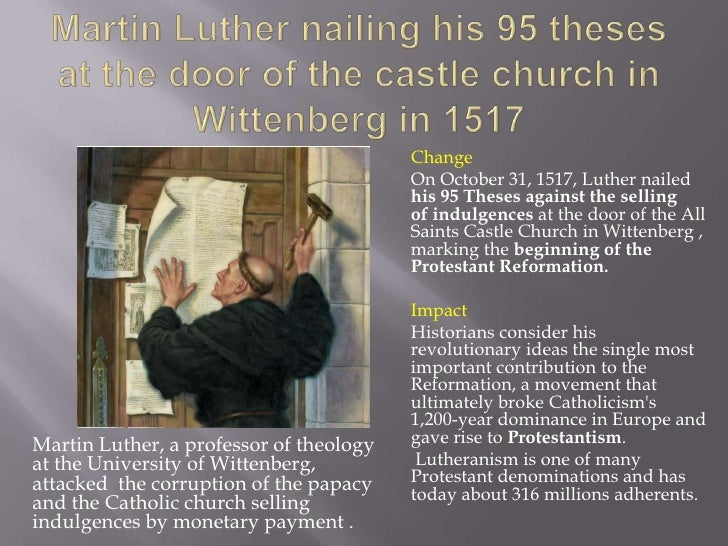 wittenberg catholic singles His coffin was moved to the crypt of the wittenberg all saints  he is considered to have remained a roman catholic  they are all part of a single.