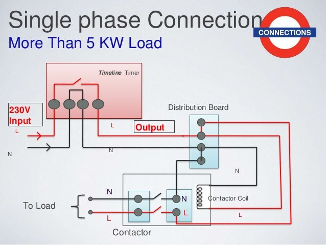 1 phase contactor wiring diagram
