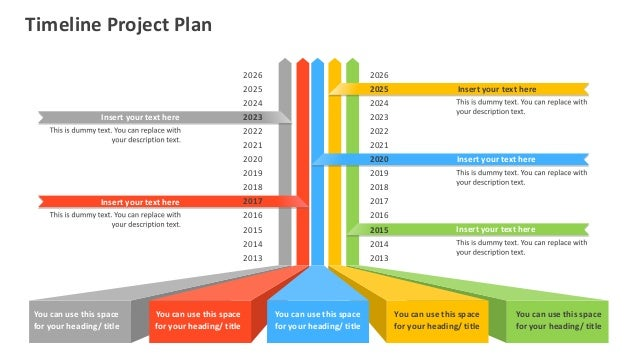 Timeline Project Plan Editable Powerpoint [Template]