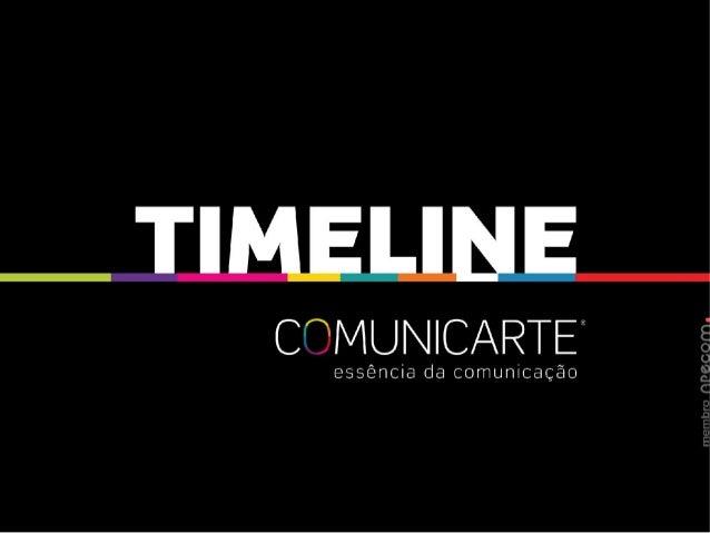 Timeline Comunicarte