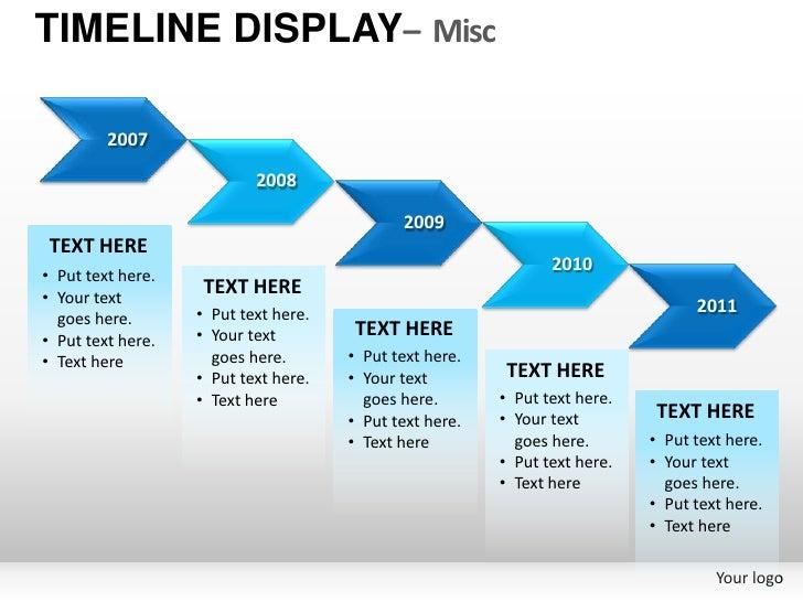 roadmap presentation template