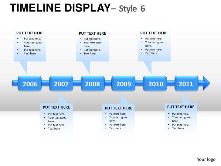 roadmap timeline display style 6 powerpoint presentation templates, Presentation templates