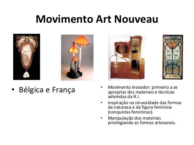 Art Deco I Guerra: divisor entre Art Nouveau e Art Deco. Estilo decorativo inspirado pela Arte Não-ocidental (África/egito...