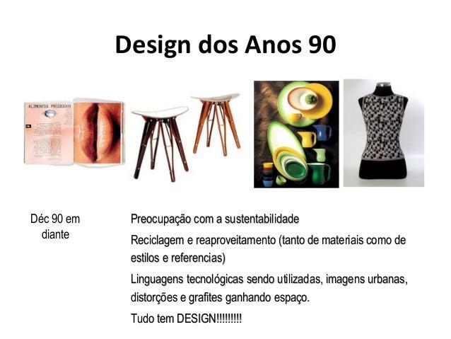 Timeline e historia do design