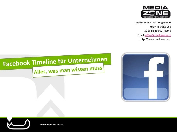 Mediazone Advertising GmbH                               Robinigstraße 26a                          5020 Salzburg, Austria...