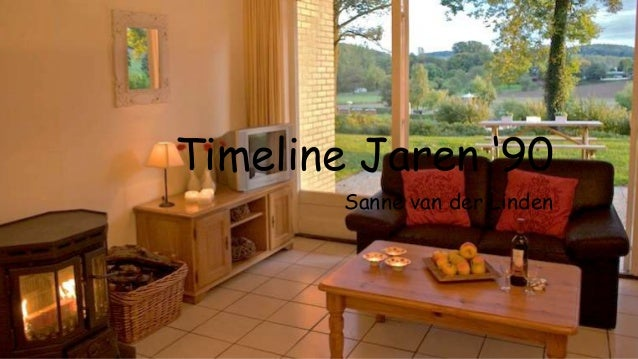 Timeline Jaren '90 Sanne van der Linden