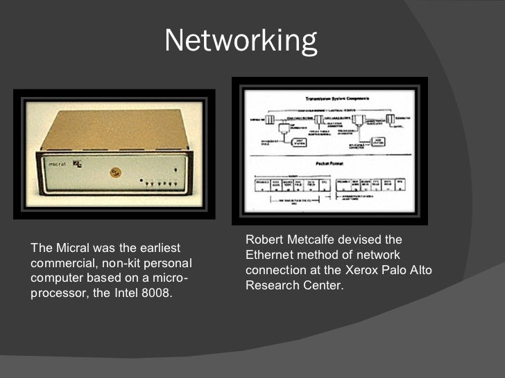 a history of ethernet network at xerox corporation in 1973 Networking in the 1970s history of networking ethernet was born in 1973 in xerox's digital equipment corporation (dec), intel, and xerox formed the dix.