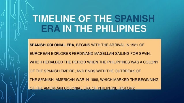 spanish american and japanese era Education in the philippines during the japanese era philippine literature during the japanese era background spanish , american and japanese era in the.