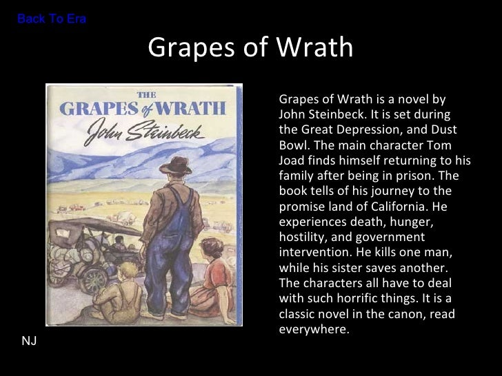 an analysis of the major characters in the grapes of wrath a novel by john steinbeck The grapes of wrath, describes the difficulty of migrant labors during the great depression written by, john steinbeck, this novel went on to receive.
