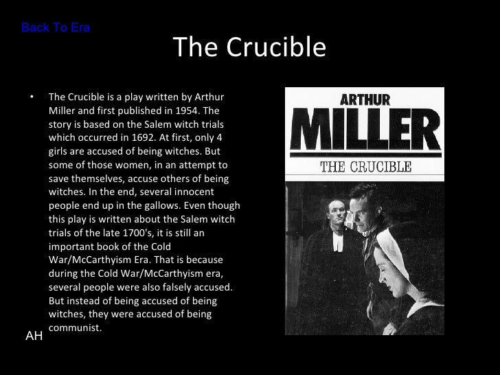 salems social structure presented in the crucible by arthur miller Crucible controversy  the crucible by arthur miller was conrtoversial because witchcraft was a very scary topic  and the challenge of social structure.