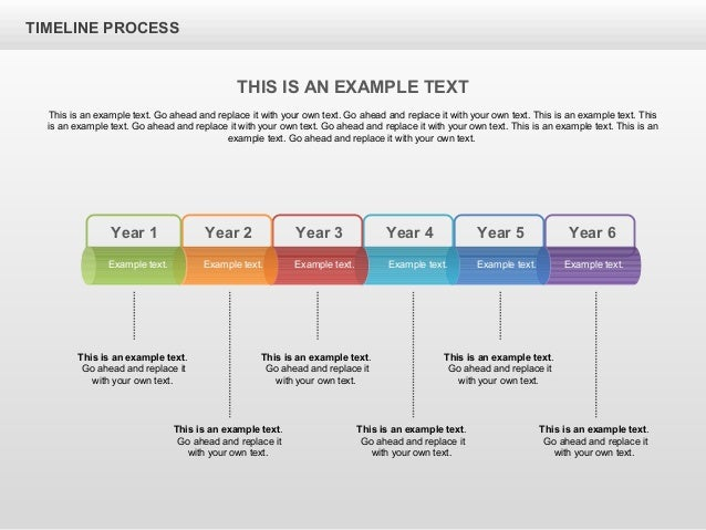 Timeline process toolbox for powerpoint by poweredtemplate year toneelgroepblik Image collections