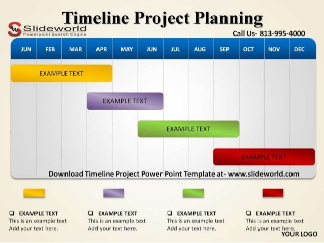 example of timeline project