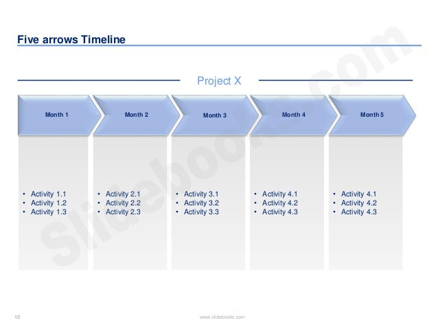 Timelines calendars in powerpoint 12 maxwellsz