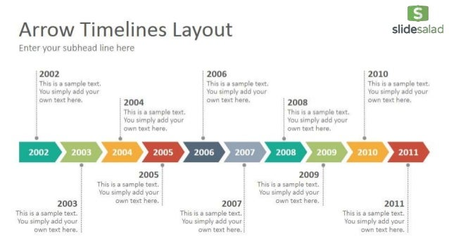 Timelines diagrams google slides presentation template slidesalad for Timeline in google slides
