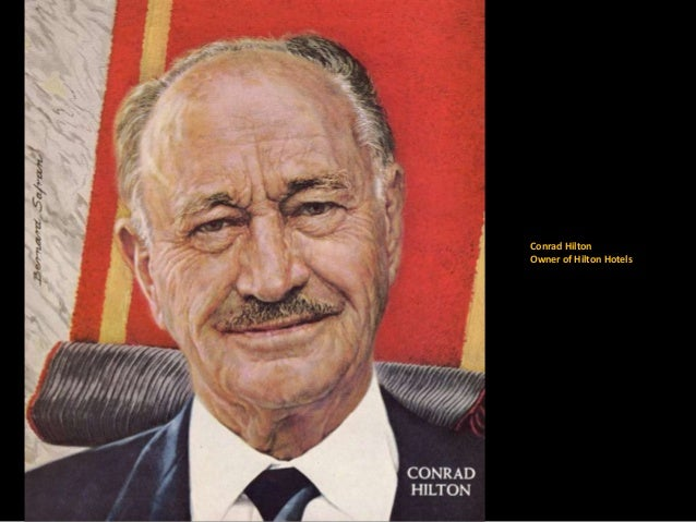 30 Conrad Hilton Owner Of Hotels