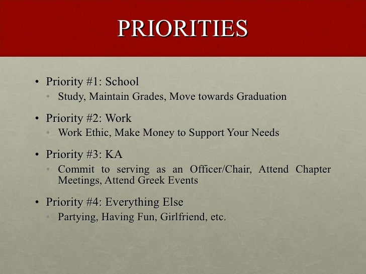 Time Management for New Members Slide 3