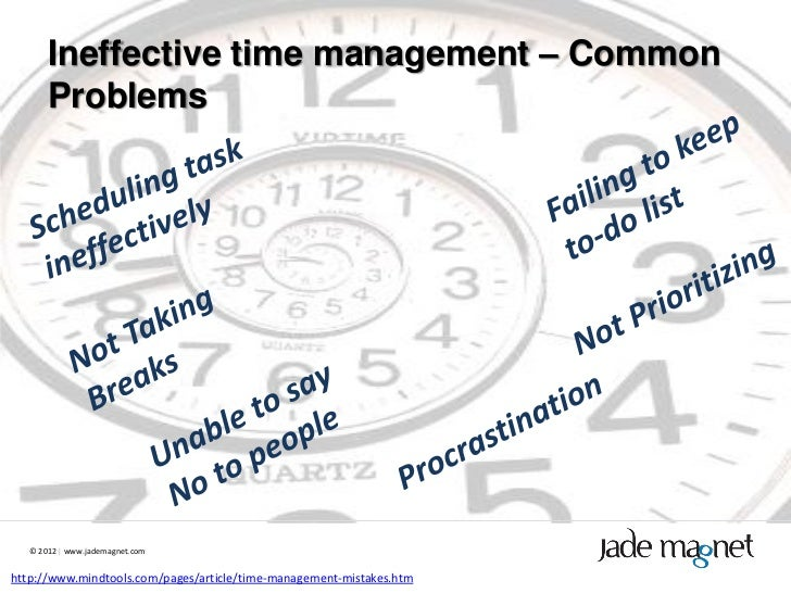 Time management family issues