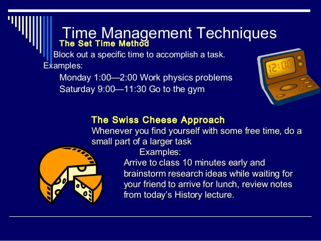 time management template for college students