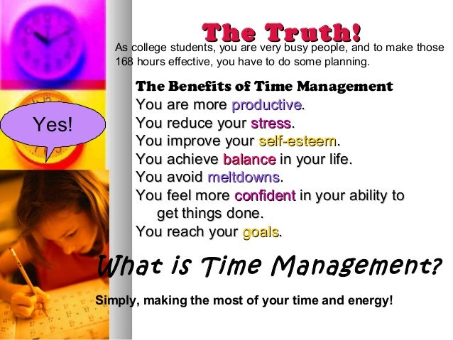 time management for college students powerpoint