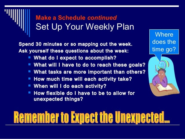 Time Management For College Students