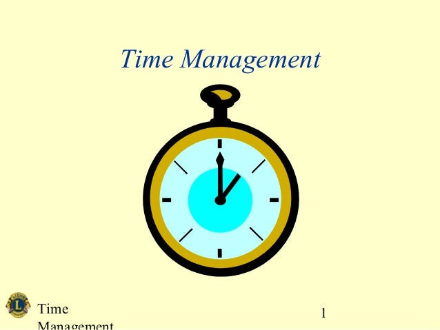 Time 1 Time Management