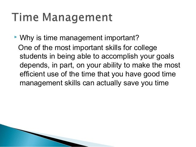 Importance Of Time Management In Military
