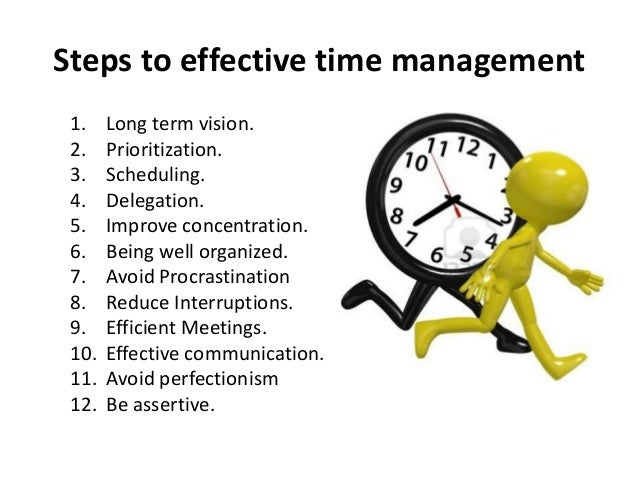 Time Management For Success And Well Being