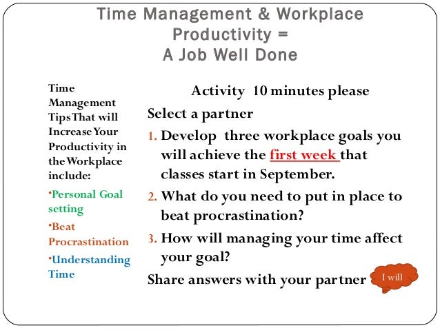 time management for workplace Working at home may save time on the commute but you can lose time too if you don't take control of it use these time management tips for wahms.
