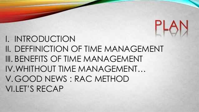 Time management ahmed jadir 2 i introduction ii deffiniction of time management ibookread Download