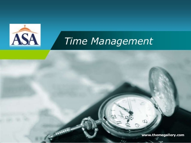 Time Management www.themegallery.com