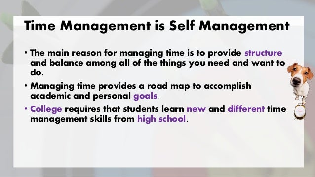 goal and also moment management articles
