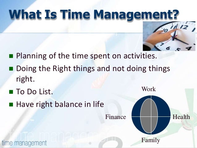 relationship between goal setting and time management