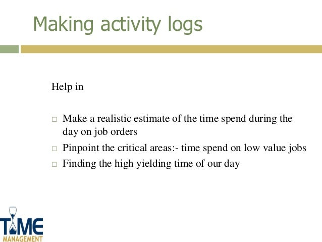 essay on value time management