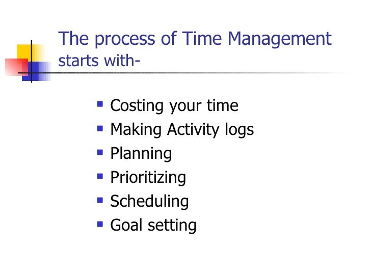 Examples of Effective Workplace Time Management Skills