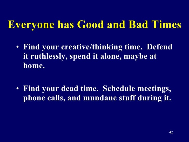 randy pausch time management Randy, a self-admitted intensely focused person, understood the importance of time management long before his terminal cancer diagnosis it is, as he called it, one of my most appropriate.