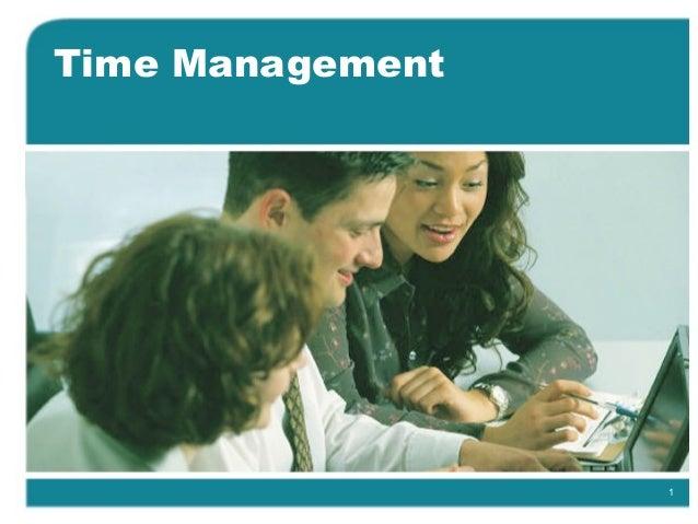 1 Time Management