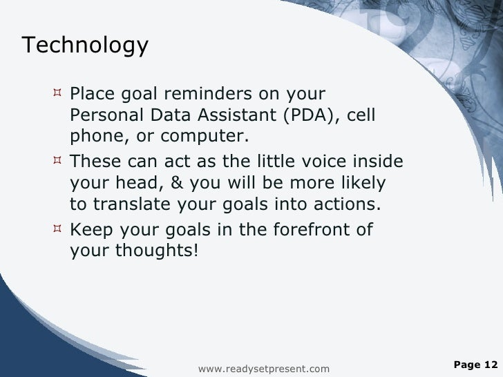 Time Management And Technology: Time Management & Technology PowerPoint Presentation With