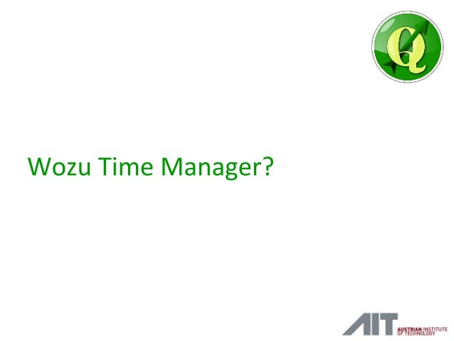 Time Manager Vortrag vom QGIS-DE Anwendertreffen 2015 Slide 2