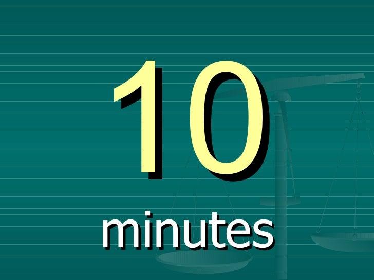 timer 10minutes