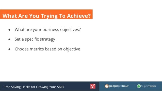 Time Saving Hacks for Growing Your Small Business Slide 3