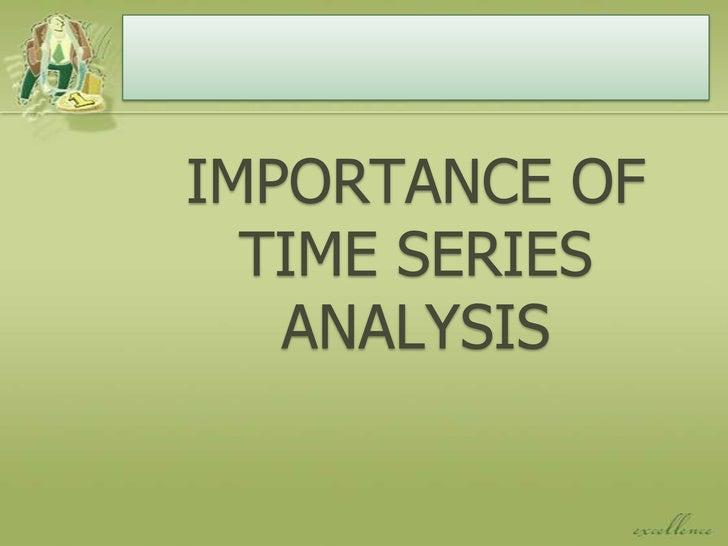 Time series statistical analysis